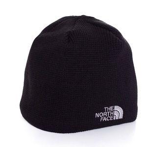 North Face Bones Black Knit Beanie - Unisex